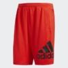 4KRFT Sport Badge of Sport Shorts Red DU1594 01 laydown