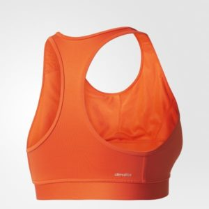 Top deportivo de training Techfit Naranja BK3528 02 laydown